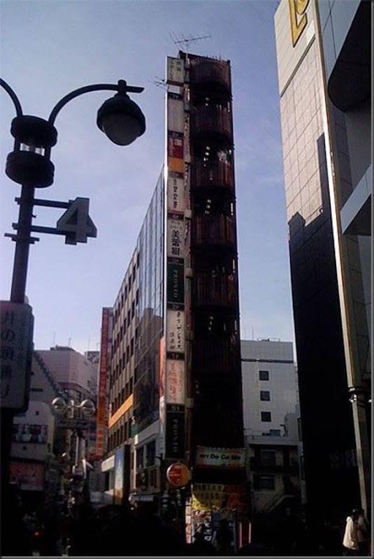 Prédios japoneses finos (3)