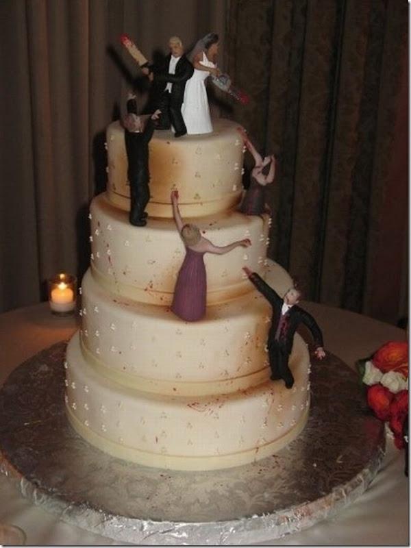 Melhor bolo de casamento de todos os tempos