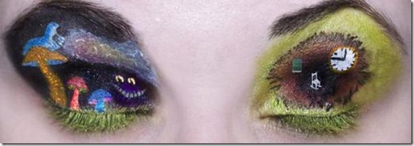 Linda maquiagem nos olhos em forma de sombra (6)