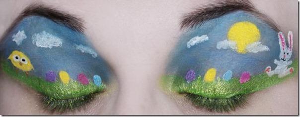 Linda maquiagem nos olhos em forma de sombra (7)