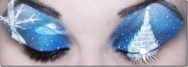 Linda maquiagem nos olhos em forma de sombra (9)