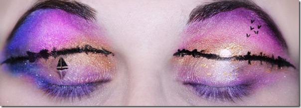 Linda maquiagem nos olhos em forma de sombra (12)