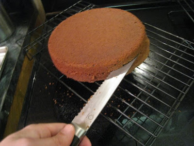 carefully slidewide metal spatulas cake