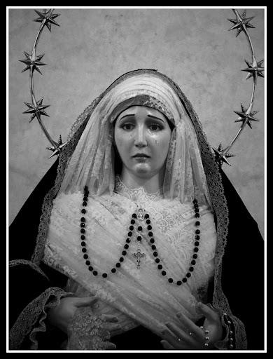María Stma. del Rosario de luto (Nov. 2010)