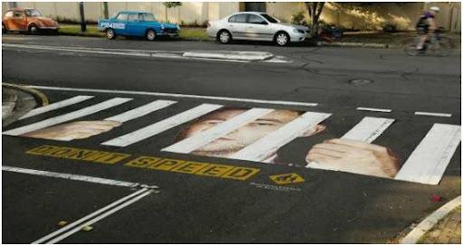 Pedestrian Crossing or the Prison?