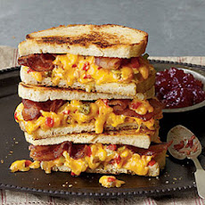 """Some Like It Hot"" Grilled Pimiento Cheese Sandwiches"