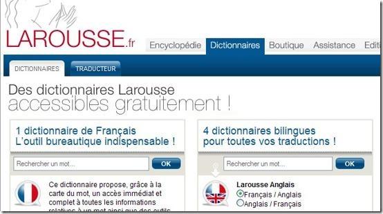 Image - Dicctionnaire Larousse