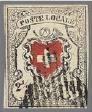 Les premiers timbres de Suisse