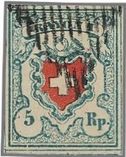 Le timbre le plus rare de Suisse