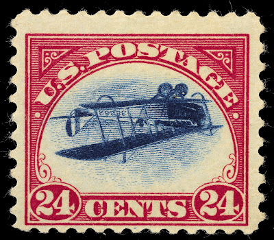 Inverted Jenny, position 22
