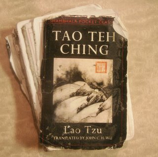 The Tao Teh Ching Cover