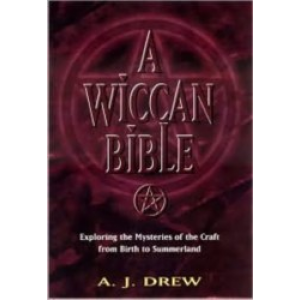A Wiccan Bible Cover