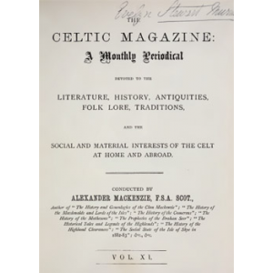 The Celtic Magazine Cover