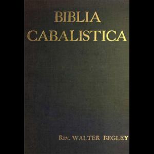 Biblia Cabalistica Cover