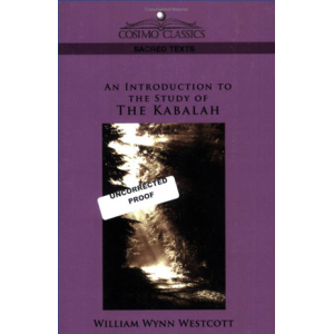 An Introduction To The Study Of The Kabalah Cover