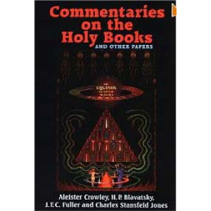 Commentaries On The Holy Books And Other Papers The Equinox Cover