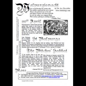 Walpurgisnacht Cover