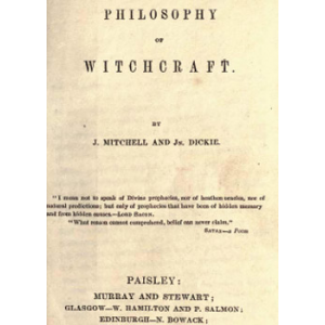 The Philosophy Of Witchcraft Cover