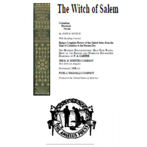The Witch Of Salem Cover