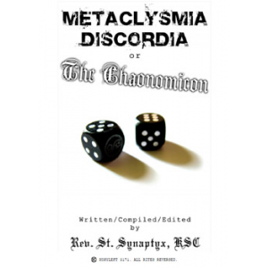 Metaclysmia Discordia Or The Chaonomicon Cover