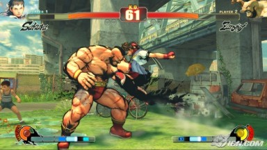 Street Fighter IV - Zangief vs Sakura