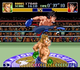 Little Mac vs Dragon Chan (SNES)