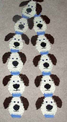 dogscarf Şirin örgü atkı modelleri