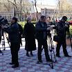 DSC05127.JPG - Chersoń. Zbiórka przed kościołem p.w. NSPJ - reporterzy w akcji