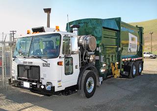 Waste Management Autocar at Altamont