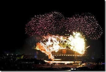 AUSTRALIA NEW YEAR 2010 SYDNEY