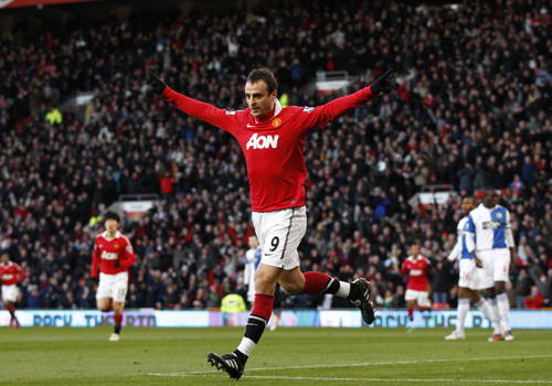 Berbatov, Manchester United - Blackburn