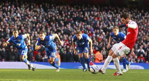 Fabregas, Arsenal - Leeds