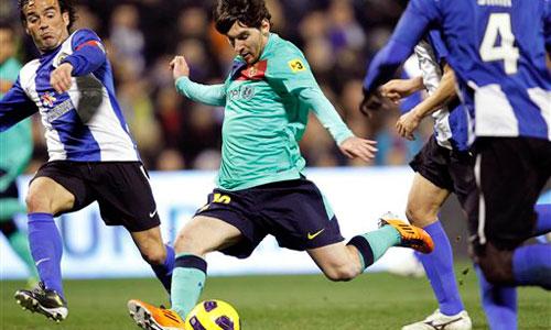 Messi, Hercules - Barcelona