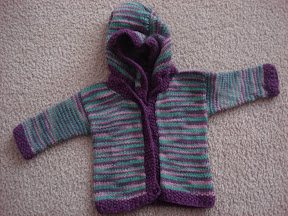 Girls Little Gnomie Jacket - size 3-6 Months
