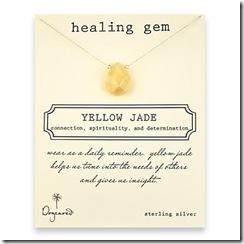 healing gem yellow jade