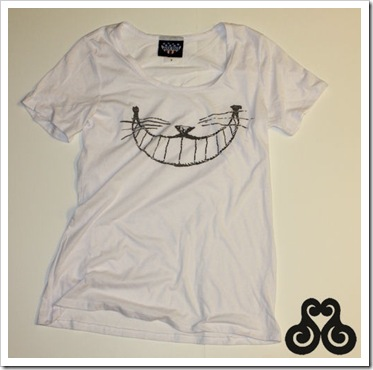 Cheshire Cat Boyfriend Tee