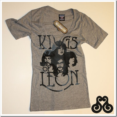 kings of leon vneck
