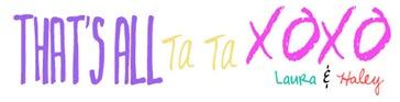 laura & haley signature