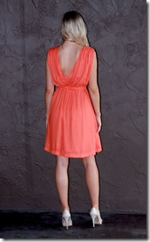 French Connection Orange Dress B