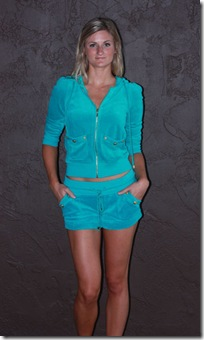 Juicy Teal Velour F2