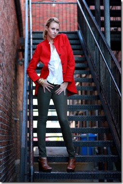 BB Dakota Red Coat 2
