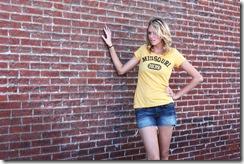 Mizzou Yellow Tunic F