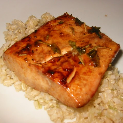 Grilled Mahi Mahi With Brown Rice