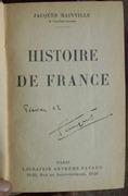 Bainville - Histoire de France