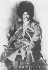 Alexandre Dumas en Bechmet  cosaque