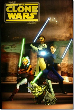 Star Wars Clone Wars Psoter
