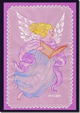 Anioł z księgą