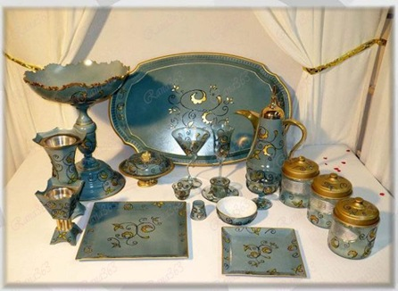 أدوات ضيافة شرقية أطقم ضيافة عربية أكواب قهووة شرقية ادوات مطبخ عربية طقم شاي