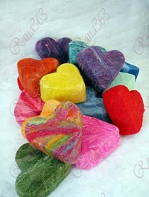 felted soap tumble all