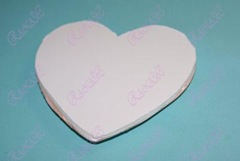 foam core heart